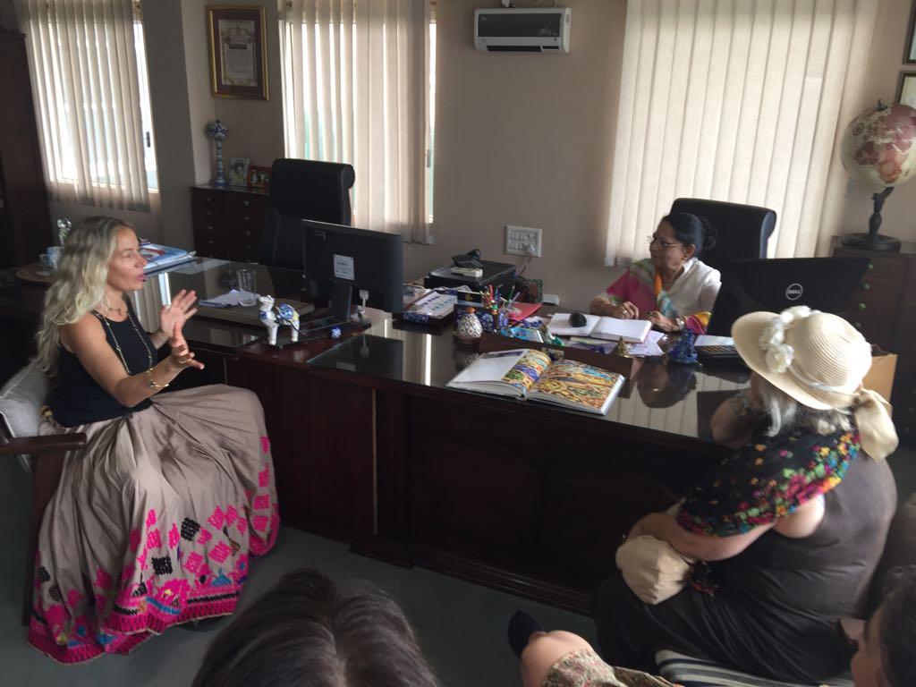 Interaction with Ma'am Leela Bordia