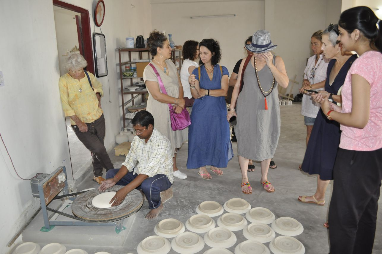 Pottery Wheel Proccess