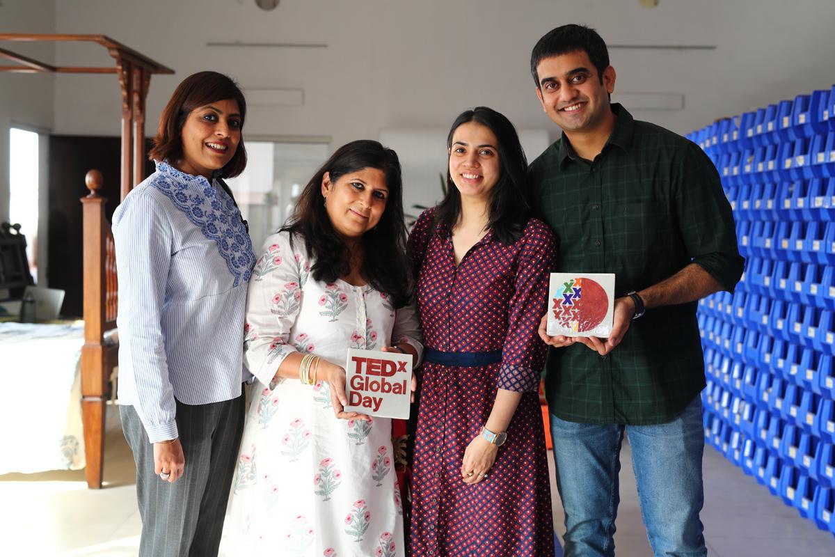 TEDx and Neerja Representatives