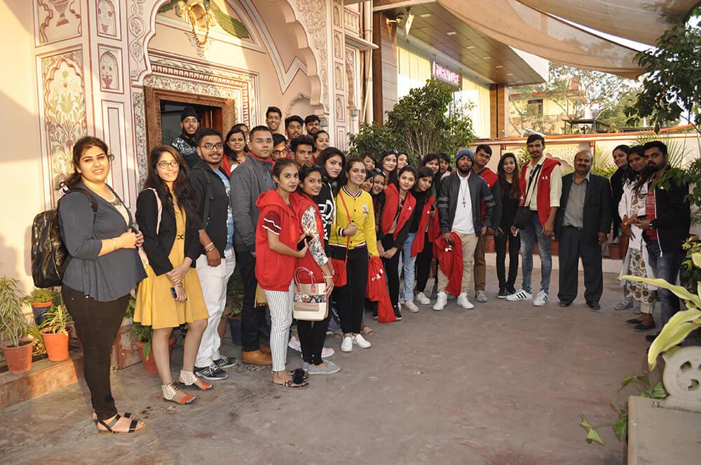 International Institute Of Fashion Design Indore Visited Neerja International Inc Blue Pottery Jaipur Neerja International Inc