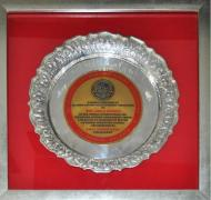 Life Time Achievement Award for Service to the Ceramic Sector by the All India Pottery Manufacturers Association