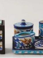Neerja International Inc - Jaipur Blue Pottery - EPCH Trade Show 2012 - 18th to 21st February