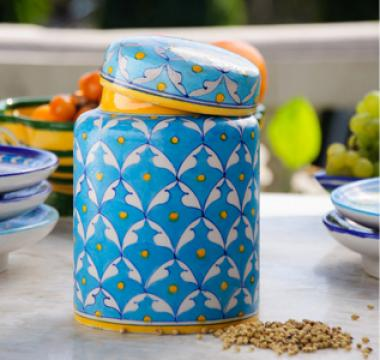 Neerja Blue Pottery Burney