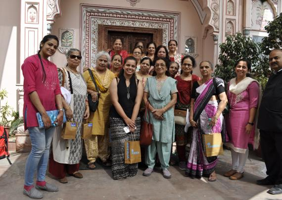 Amrut Yatra ladies group visit to Neerja International Inc