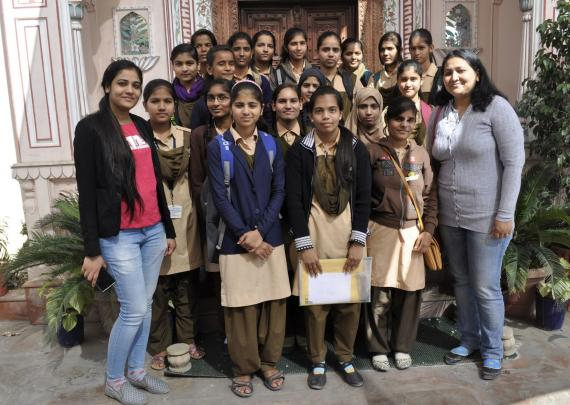 Udayan Care students visits to Neerja International Inc.