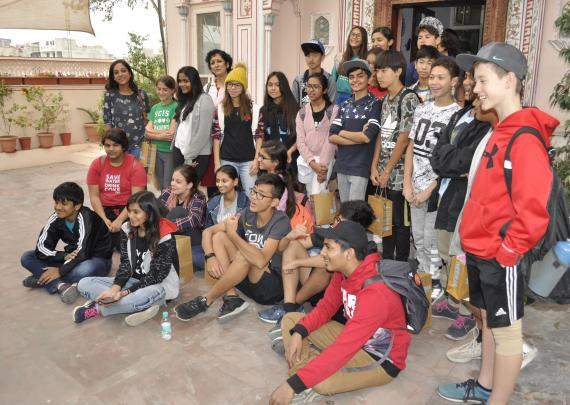 Mercedes-Benz International School, Pune visits Neerja International Inc