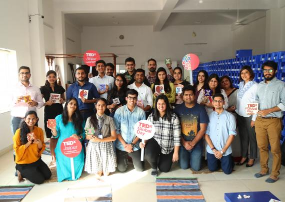 TEDx Organizers spent a day filled with activities of making Blue Pottery at Neerja International Inc. on the event of TEDxGlobalDay2018 held on September 29, 2018.