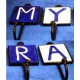 Alphabet Iron Hooks A to Z