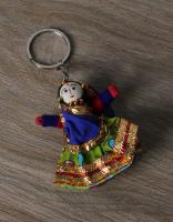 HANDMADE DOLL KEY RING WOMEN