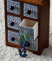 Neerja Exclusive Blue Pottery Beaded Jewelry