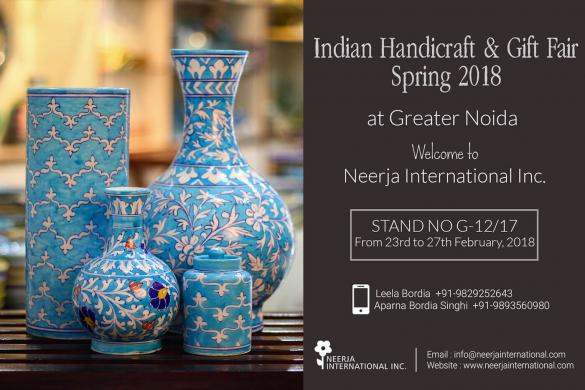 Indian Handicraft & Gift Fair Spring 2018