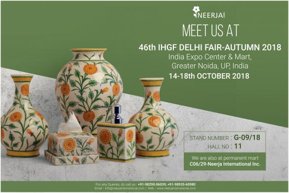 46th IHGF Delhi Fair-Autumn 2018