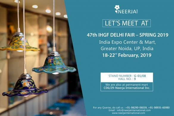 47th IHGF DELHI FAIR - SPRING 2019